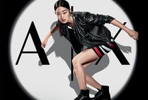 Armani Exchange - Spring Summer 2017 / Unveiling the Spring/Summer 2017 campaign.  The Armani Exchange Spring/Summer 2017 collection is an irreverent hybrid of locations and inspirations. It mixes rebellious punk and activewear, street style and Japan, sports and military styles. The spirit is fast and metropolitan. The collection has a changeable, metropolitan personality. The emphasis is on functional looks that mix activewear with a whole array of sophisticated references.