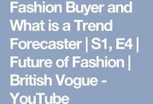 Week 1 ¿What is a Trend Forecaster?