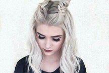 Örğü saç modeli