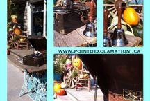 Point d'exclamation Baie-St-Paul / Boutique située  au 124 rue Saint-Jean-Baptiste, Baie-St-Paul