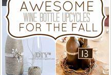 Wine bottle projects