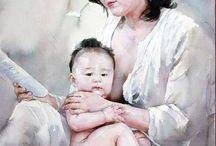 aquarelle :: Liu Yunsheng