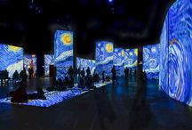 Immersive and Sensory Art / Looking at Installation based experiences in and gallery environments