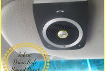 Jabra Speakers and Headsets / Top quality products for music and bluetooth. Our family LOVES these!!!!