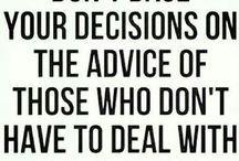 Wisdom - Lessons of Life