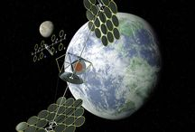 """Space Based Solar Panel / Space-based solar power  is the concept of collecting solar power in space (using an """"SPS"""", that is, a """"solar-power satellite"""" for use on Earth"""