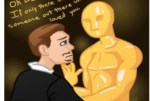 Leonardo DiCaprio's Oscar / Support for Leo. Leo + Oscar = OTP / by Anne Shirley