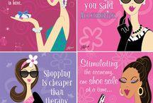 Glamper: Girls illustrated / by Angela Leachman