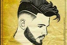 Hairstyle cuts / Hight blend Drop down High pomp Pompadour Wave pomp Samurai Smoth  Wicks back  High blend Under cut Under flow Wavy bangs False fade Mid fade Scissor & Comb Haircut bang Sidewinder Juice box Drop down