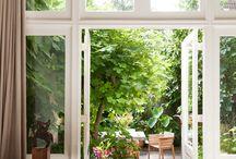 Doors to gardens