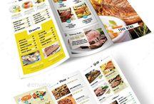 Food - Menu book / Menu book Design..!