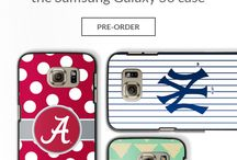 """Getting the Samsung Galaxy S6?  Pre-order the Coveroo Thinshield Today! / ""Getting the Samsung Galaxy S6?  Pre-order the Coveroo Thinshield and show off your favorite sports team or customizable art today!"""