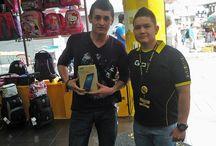 Concurso Tablet Samsung / Ganadores de concurso realizado en nuestros locales comerciales