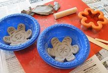 Art: Clay Critters, Shapes, and Fun / by Junkin' J