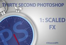 30 Second Photoshop / Bitesize Photoshop tips and tricks / by Eric 'TipSquirrel' Renno