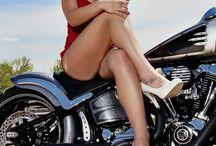 Super Biker Girls / Sexy Girls and Super Bikes