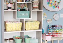 Craft Rooms We Love / Amazing rooms we found to share with you!