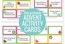 Christmas Printables / Christmas themed printables for children and for the home.