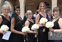 Modern style Wedding Flowers