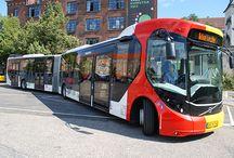 só ônibus.