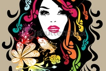 Fashion Fun - So groovy! / Funky and groovy art, album covers and just anything cool.