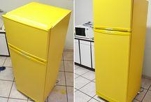 Pitando geladeira