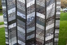 [50 Shades of] Gray Quilts
