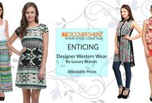 Stunning Westernwear / Breathe a new life into your casual wardrobe in the form of western wear.Fashionable women will surely like to update their wardrobe with gorgeous western wear. Add more charm to your femininity and keep your look lively wearing western outfits.