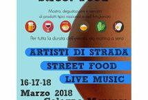 Street Food, Artisti di strada e Live Music 16-17-18 marzo Cologno Monzese (MI)