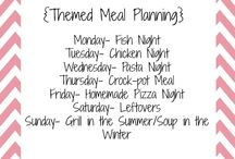 dinner / Meals I will cook this week