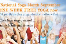 National Yoga Month