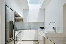 sky light kitchen