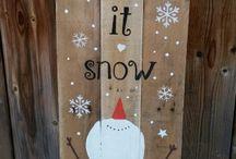 zima sněhulák
