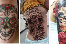 Day of the dead tattoos / These days, the world of tattooing really keeps of evolving causing some tattoo innovations to come out like the day of the dead tattoos. http://fabulousdesign.net/day-of-the-dead-tattoos/