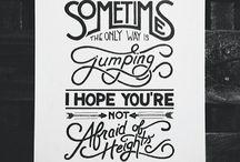 lettering art ☺