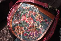 Bags and purses handmade leather