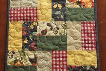 Caminhos de mesa  em patchwork