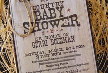 Country Style Baby Shower / by Mandi Pitts