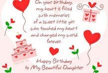 Verjaardag dochter