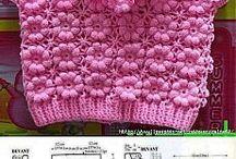 Crochet saquitos bebe