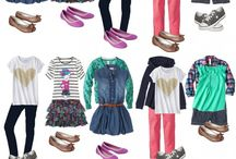 Girls' wardrobe