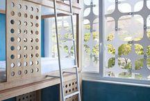 Łóżka w Hostelach / Inspirujące, dobrze wyglądające a czasami zaskakujące łóżka hostelowe.
