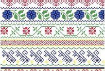 Borders - Cross Stitch