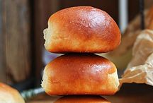 Breads, rolls sweet and savory