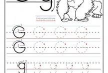 Skrivning bogstaver