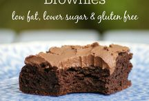 Healthy Brownies / All these brownies are healthy alternatives to traditional brownies full of white flour, sugar and fat.