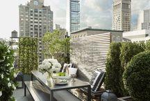 Balconi, tetti e terrazze