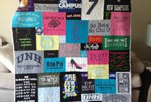 Tshirt quilt and baby clothes quilt / by Megan Decker