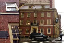 NY EAT & DRINK: FRAUNCES TAVERN - George Washington's old drinking spot. Restaurant and musem.