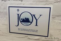 Stampin' Up Joyful Nativity